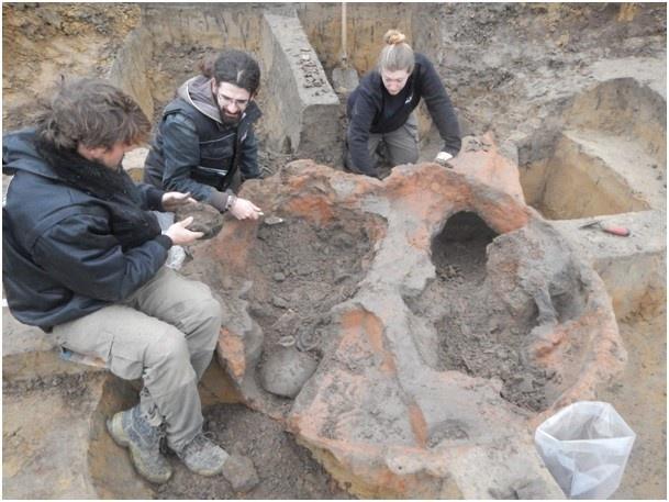 Ambachtswerk in Viroviacum Romeinse pottenbakkers ontdekt Wervik
