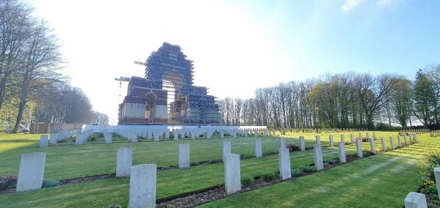 Belgische erfgoedspecialisten restaureren iconisch monument van Gemenebest in Frankrijk Press Release