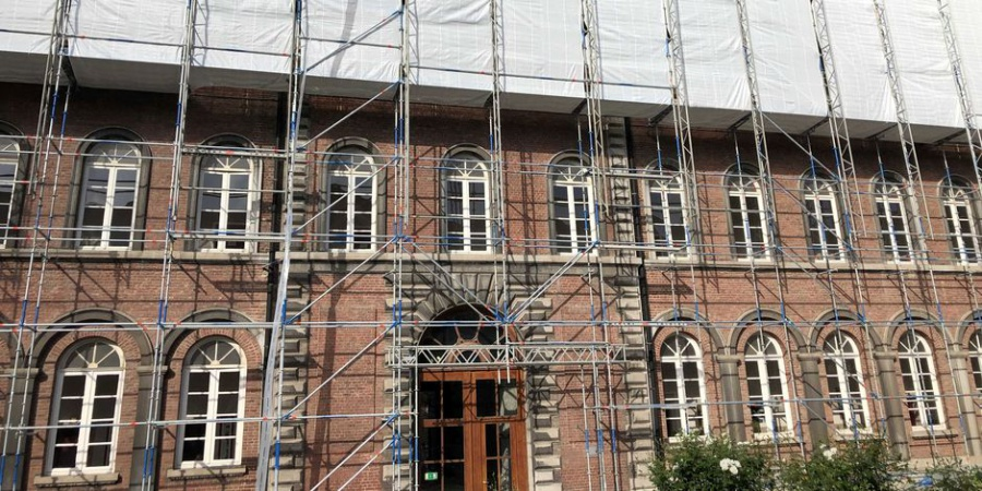 Gros chantier a lIpes Tournai
