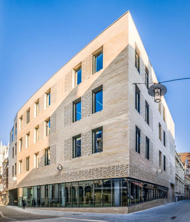 Hoofdkantoor Cera in Leuven valt in de vastgoedprijzen