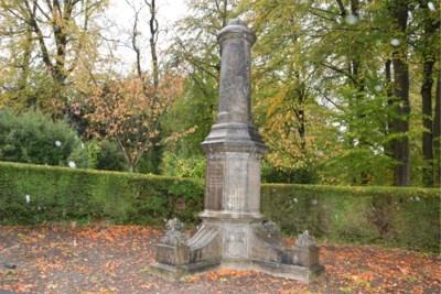 Le monument aux morts de Chercq retape avant les fetes patriotiques Tournai