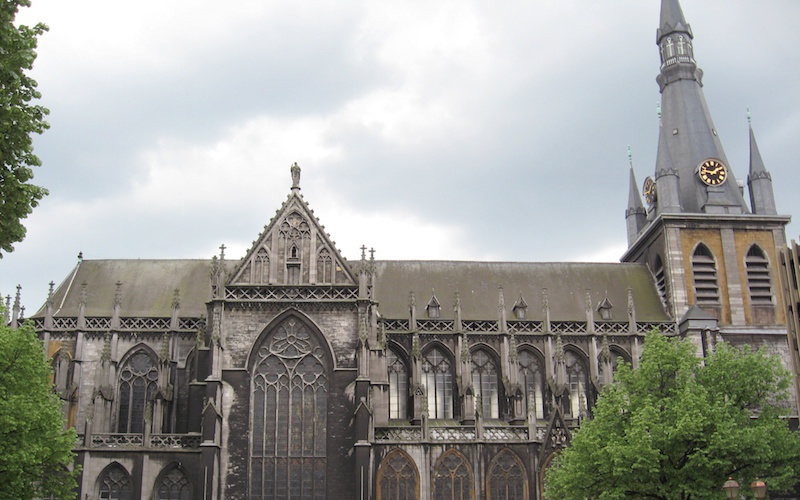 Liege La Cathedrale Saint-Paul va etre reliftee jusque Noel 2022