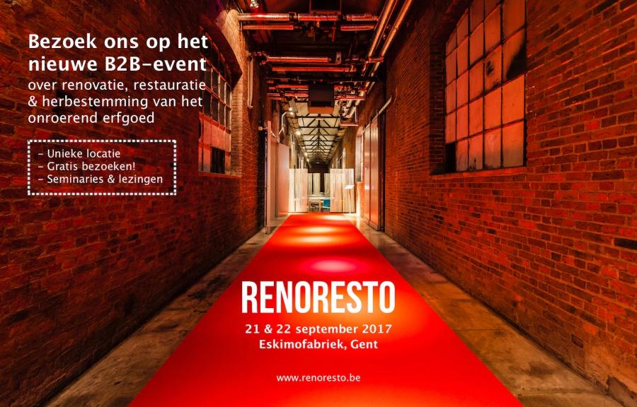 Bezoek ons op het B2B-event RENORESTO 21-22 september - Gent