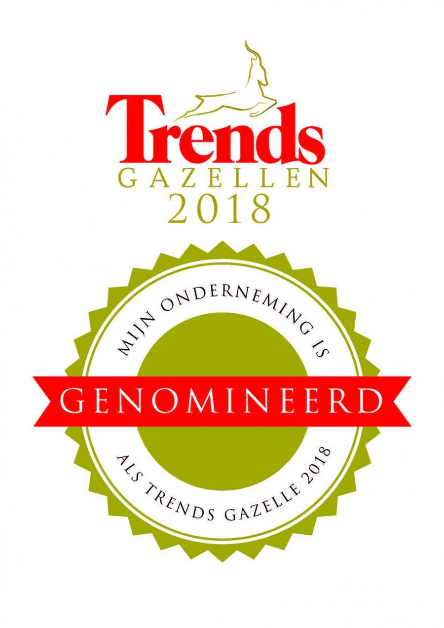 Monument Stability Contractor genomineerd voor Trends Gazelle 2018