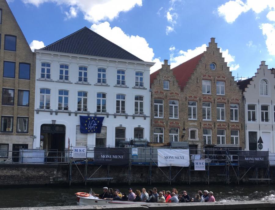 Open monumentendag Brugge 1100 bezoekers voor onze werven