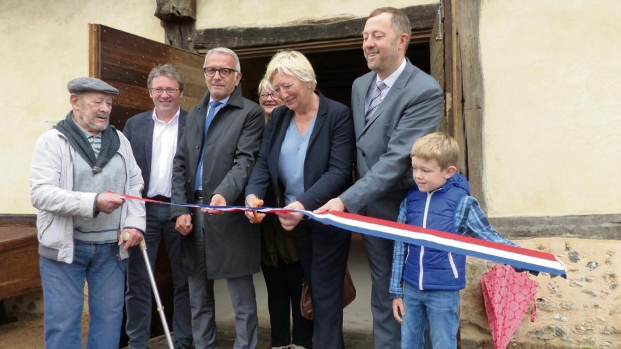 Quincampoix France inauguration du pressoir de la treme