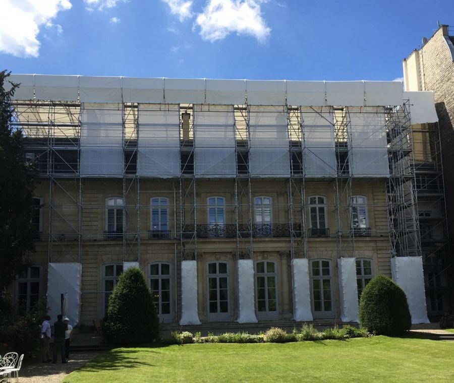 Renovation de lAmbassade de Suisse Paris