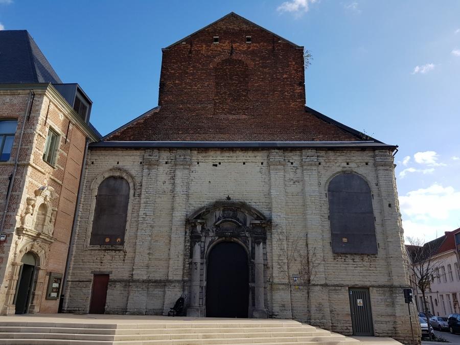 Start restauratiewerken Predikherenkerk Mechelen