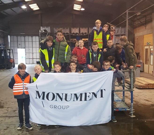 Techniekclub op bezoek bij Monument Stability Contractor