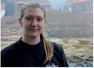 Het internationaal team van wetenschappers voor opgravingen De Meersen