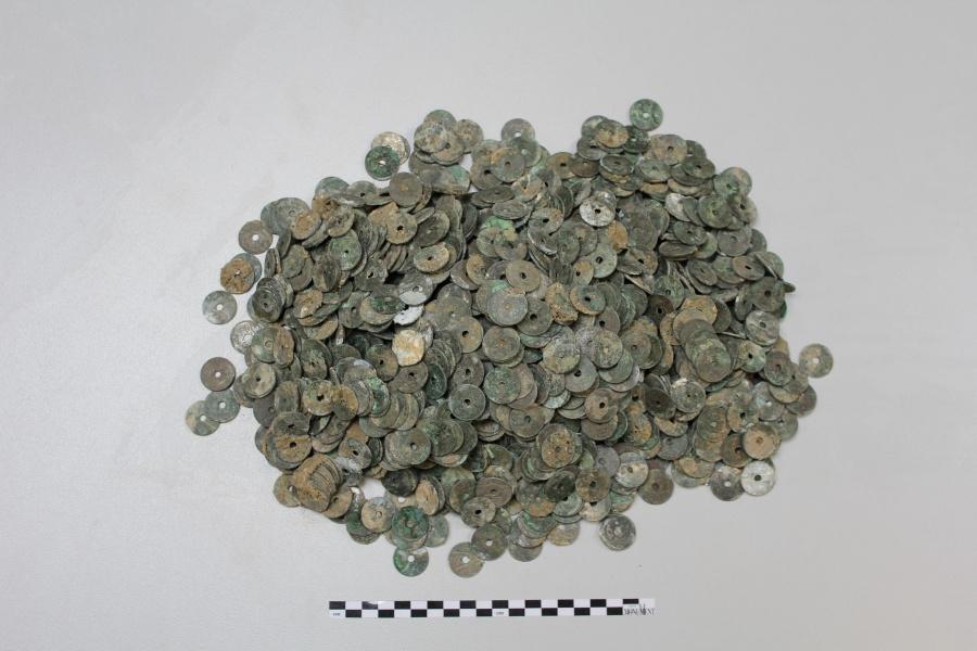 Vondsten tijdens archeologisch onderzoek de Patria worden tentoongesteld Moorslede
